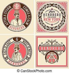 Retro designs set