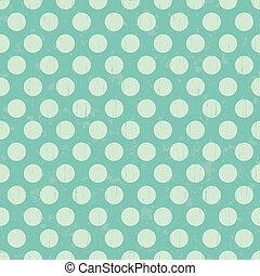 Seamless retro dot pattern background