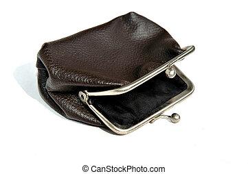 Retro empty purse