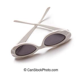 retro eyewear - vintage protective female eyeglasses...