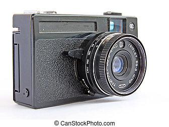 retro, fényképezőgép