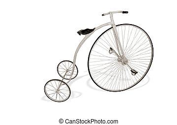 retro, fiets