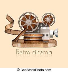 Retro Film Illustration