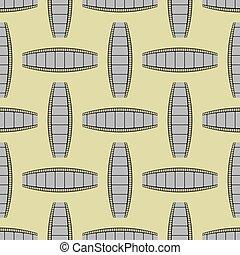 Film Stripes Background Seamless Cinema Pattern