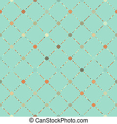Retro floral seamless pattern. EPS 8