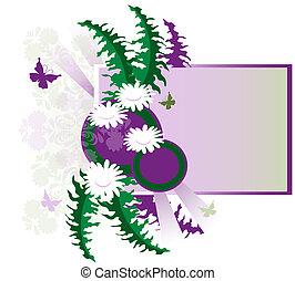 Retro Flower Graphic