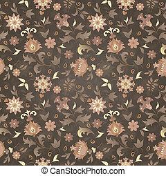 retro flower seamless