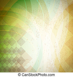 retro, fundo, abstratos