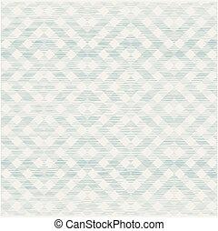 retro geometric seamless pattern with fabric texture on