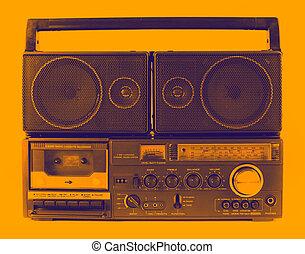retro ghettoblaster - a fantastic looking retro ghetto ...