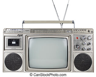 retro ghettoblaster television - a fantastic looking retro...