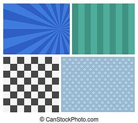 Retro Graphic Backgrounds
