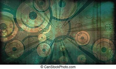 Retro Grunge Looping Background