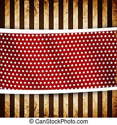 Retro grunge stripes pattern