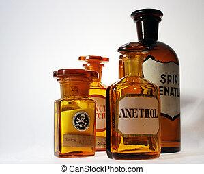 retro, gyógyszerészeti