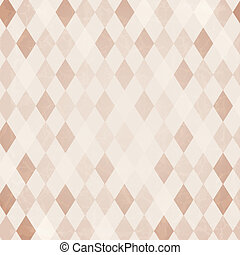 Retro Harlequin Background, Vector Background