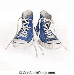 Retro high top sport sneakers