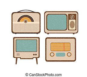retro home electronics