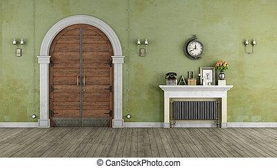 Retro Home entrance