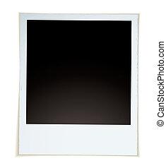 Retro instant photograph - Retro style instant photograph ...