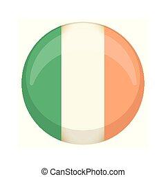 Retro Ireland campaign button