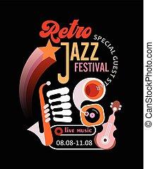 Retro Jazz Festival Poster