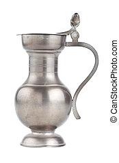 retro jug, isolated on white background