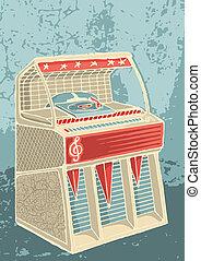 retro, juke-box