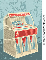retro, jukebox