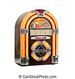 Retro Jukebox isolated