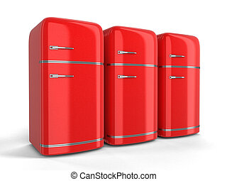 Retro Kühlschrank Klein : Retro kühlschrank kühlschrank weißes retro hintergrund