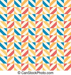 Retro kid vector seamless pattern. Endless texture for...