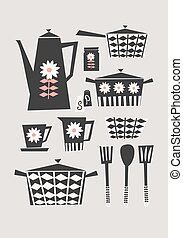 Retro Kitchen Set