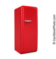 retro, koelkast, vrijstaand