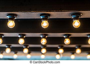 retro light lamp