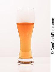 Retro looking Weizen beer
