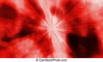 Retro Looping Abstract Strobe color