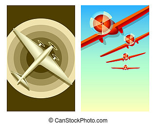 retro, luchtvaart
