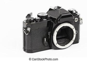 retro, macchina fotografica.