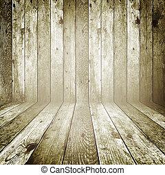 retro, madera, plano de fondo