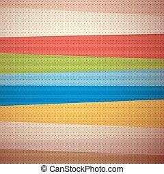 Retro Material Design Background