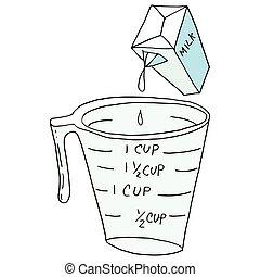 retro measuring cup