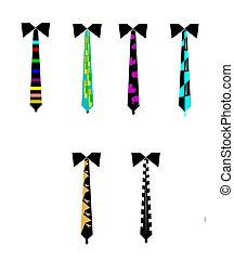 retro mens ties