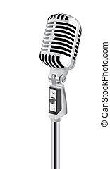 Microphone - Retro Microphone (vector)