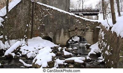 retro mill brook winter
