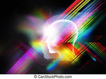 Retro Mind Background - Retro background in high resolution.