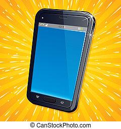 Retro Modern Cellphone