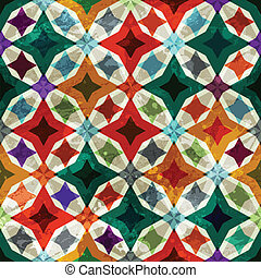 retro mosaic seamless