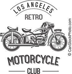 Retro motorcycle club