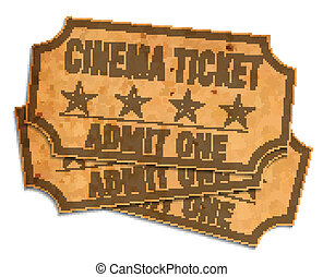retro, mozi, jelöltnévsor